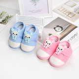 BS02 (wholesale) 6-15 months baby shoes walking shoe with soft rubber sole